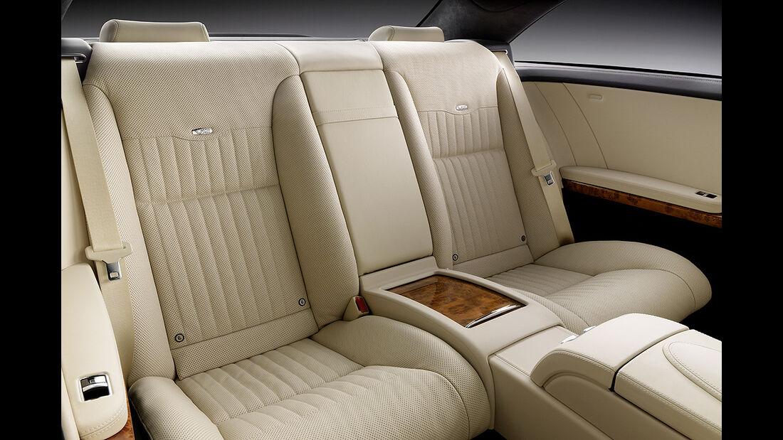 Mercedes-Benz CL 2010, Luxus-Coupé, Rücksitze