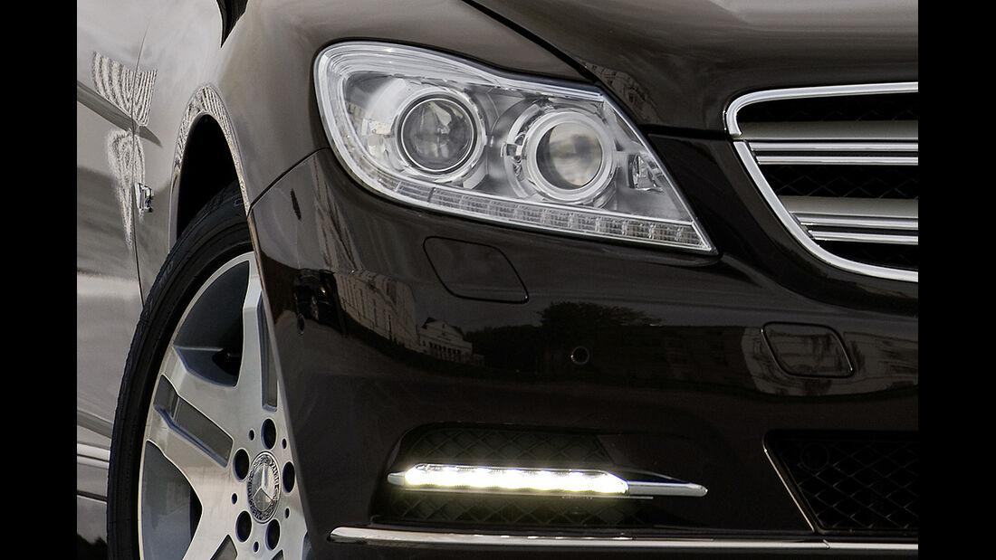Mercedes-Benz CL 2010, Scheinwerfer