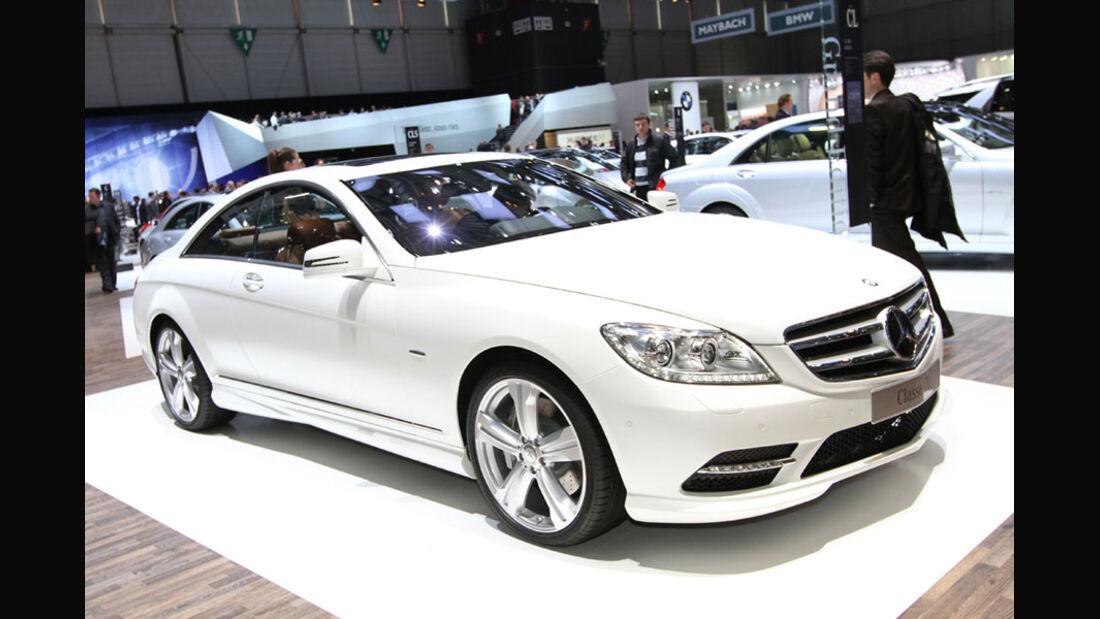 Mercedes-Benz CL Grand Edition, Autosalon Genf 2012, Messe