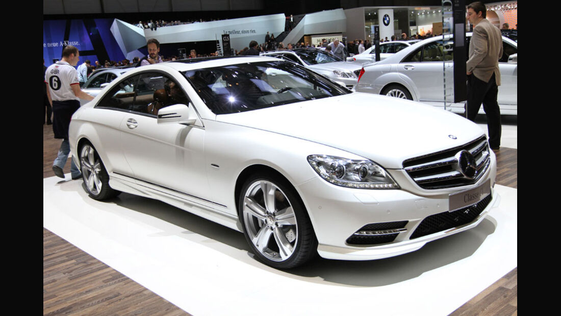 Mercedes-Benz CL Grand Edition, Autosalon Genf 2012, Messe