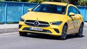 Mercedes-Benz CLA Plugin-Hybrid 250 e 2020 Fahrbericht