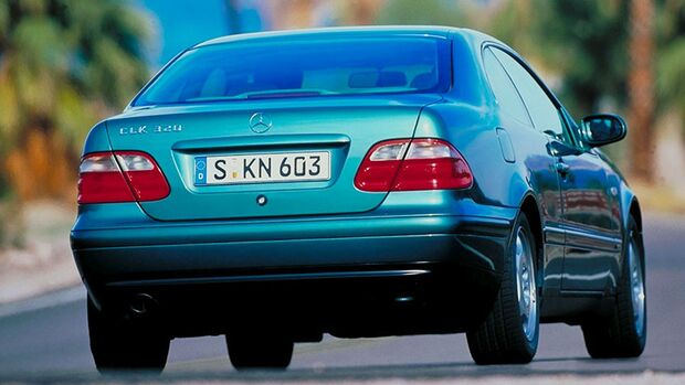 Mercedes-Benz CLK 320 Coupé Heck