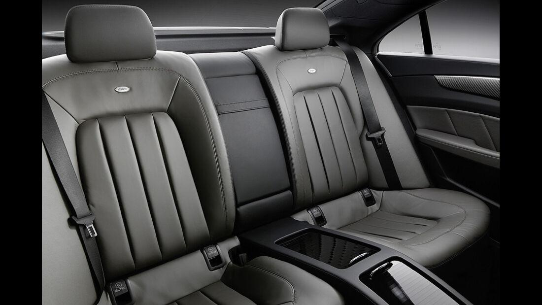 Mercedes Benz CLS, Rücksitze