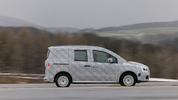 Mercedes-Benz Citan Erprobungsfahrt Immendingen März 2021
