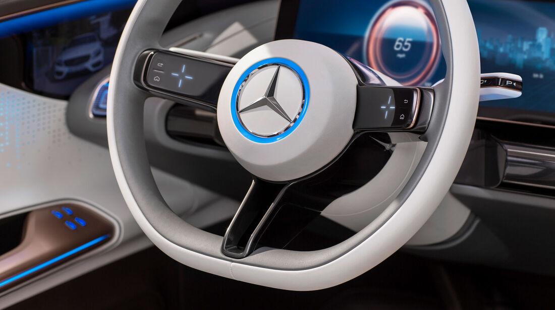 Mercedes-Benz Concept EQ - Studie - Lenkrad