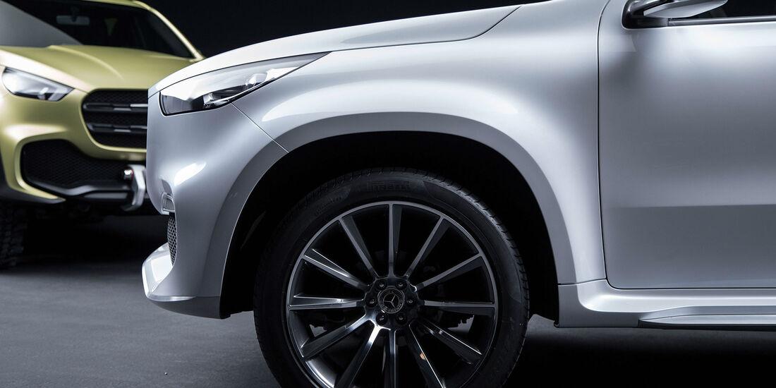Mercedes-Benz Concept X-Class (2017) X-Klasse Pickup-Studie