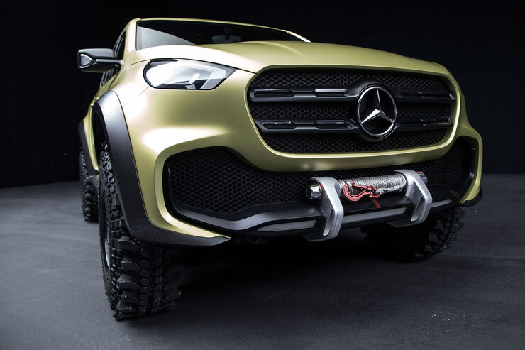 2016 mercedes benz x class pickup concept. Black Bedroom Furniture Sets. Home Design Ideas
