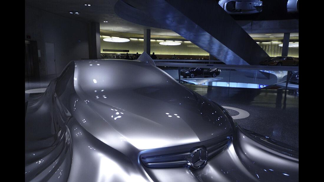 Mercedes-Benz Designskulptur CLS