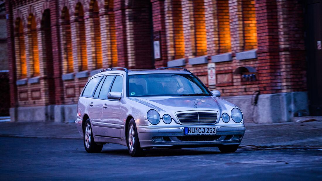 Mercedes-Benz E 200 T, Exterieur