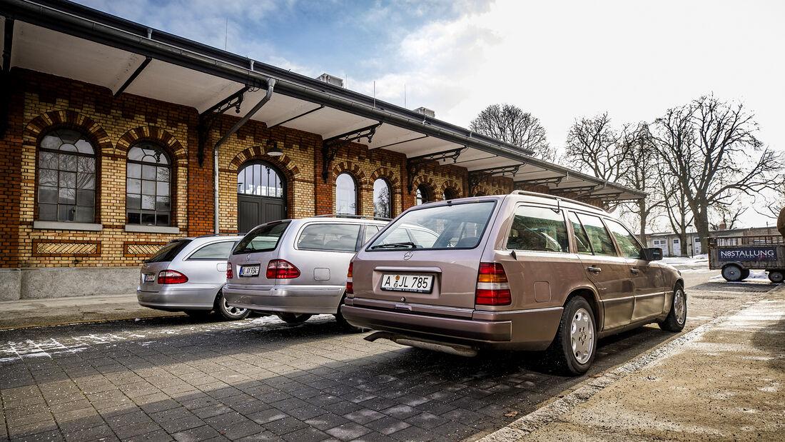 Mercedes-Benz E 250 Diesel T, Mercedes-Benz E 200 T, Mercedes-Benz E 280 CDI T, Exterieur