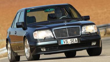 Mercedes-Benz E 500, Frontansicht