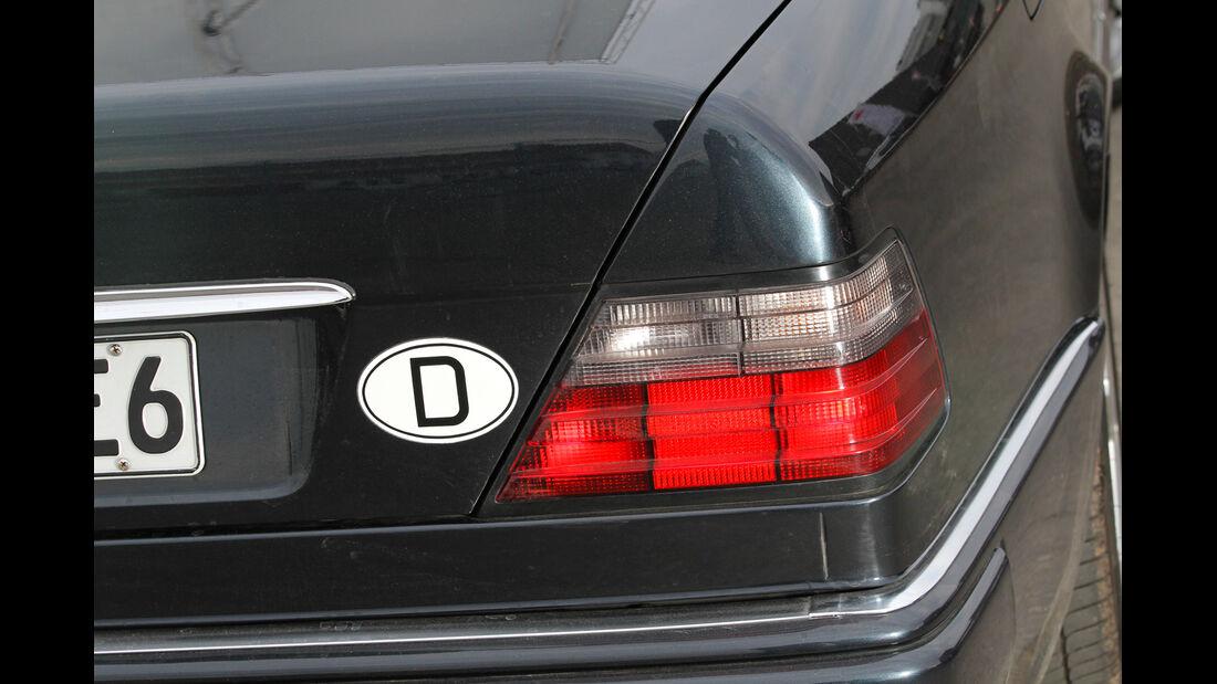 Mercedes-Benz E 500, Heck, Heckleuchte