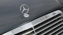 Mercedes-Benz E 500, Kühlergrill, Stern