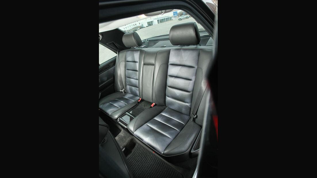 Mercedes-Benz E 500, Rücksitze, Innenraum