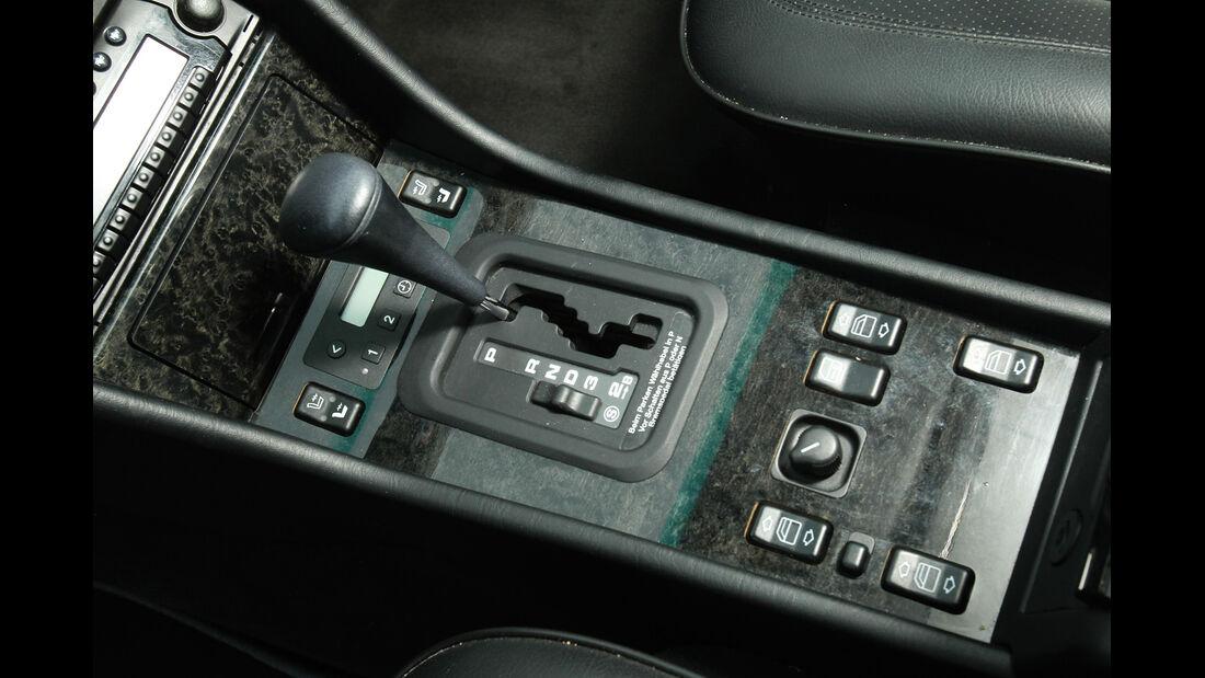 Mercedes-Benz E 500, Schalthebel, Schaltknauf
