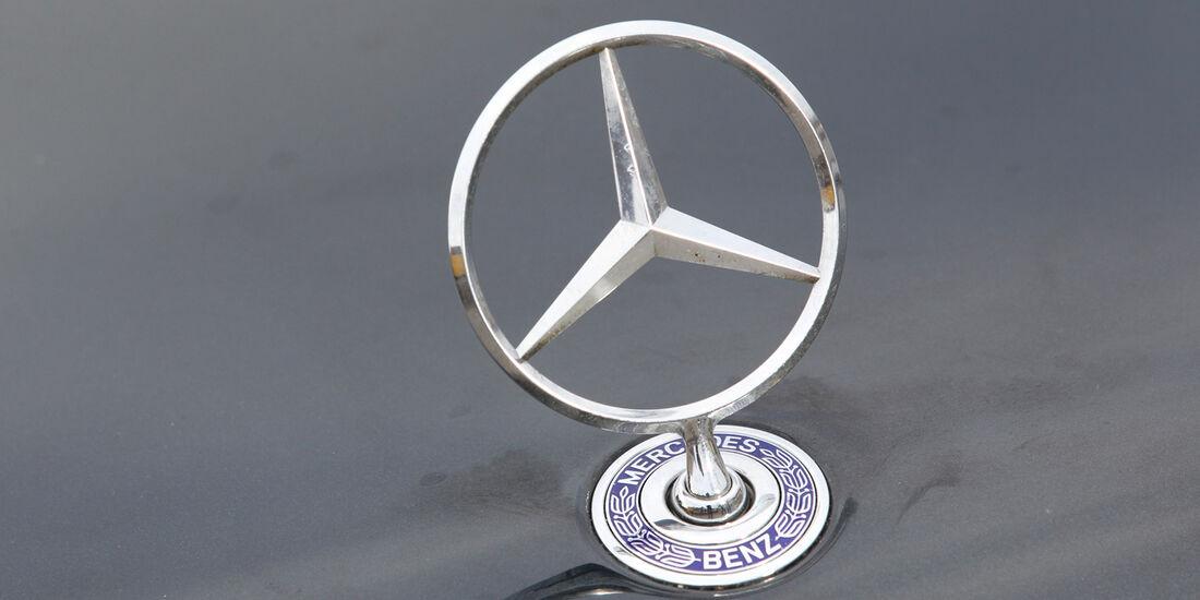 Mercedes-Benz E 500, Stern, Kühlerfigur