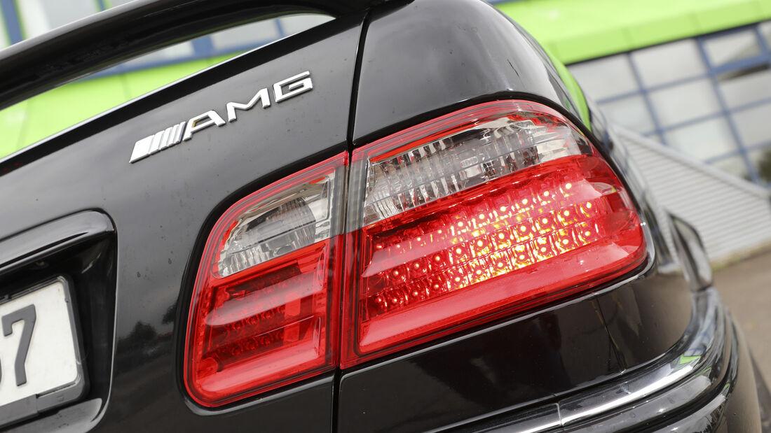 Mercedes-Benz E 55 AMG, Exterieur