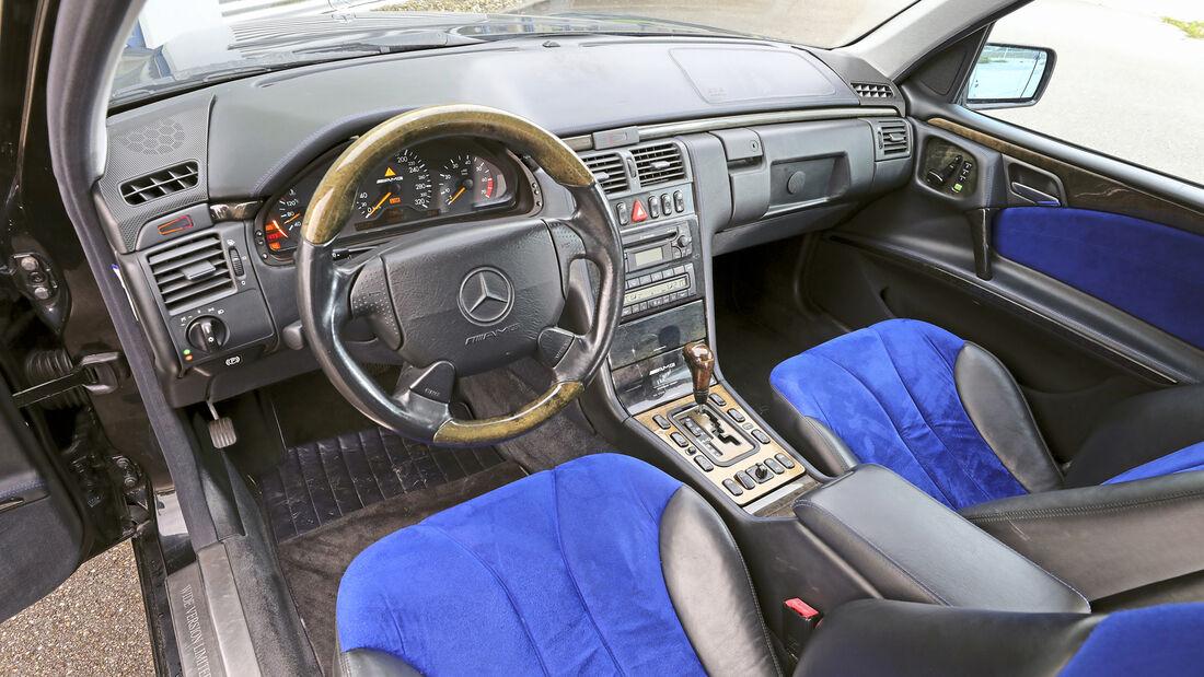 Mercedes-Benz E 55 AMG, Interieur