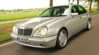 Mercedes-Benz E50 AMG, Frontansicht