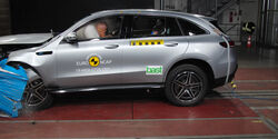 Mercedes-Benz EQ C - Frontal Offset Impact test 2019