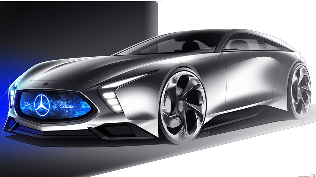 Mercedes-Benz EQ SLE