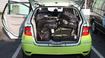 Mercedes-Benz F-Cell World Drive, Mercedes B-Klasse F-Cell, Kofferraum