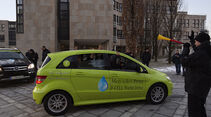 Mercedes-Benz F-Cell World Drive, Mercedes B-Klasse F-Cell, Start