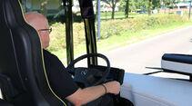 Mercedes Benz Future Bus autonomes Fahren