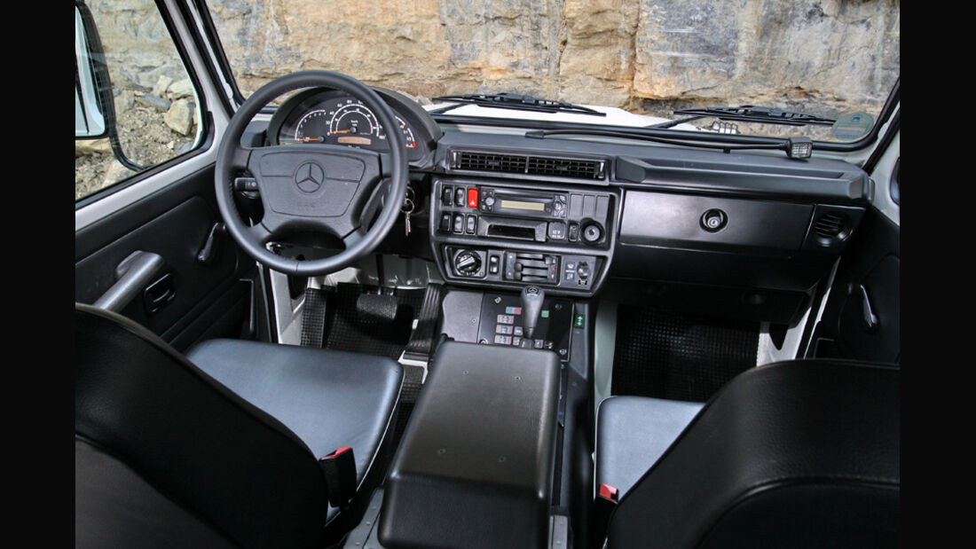 Mercedes-Benz G 280 CDI Edition Pur - Armaturenbrett