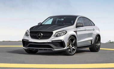 Mercedes Benz GLE Coupe Inferno Top Car