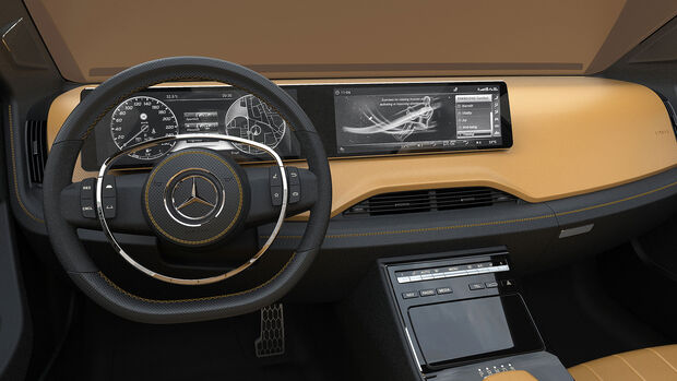 Mercedes-Benz Icon E Concept Cockpit