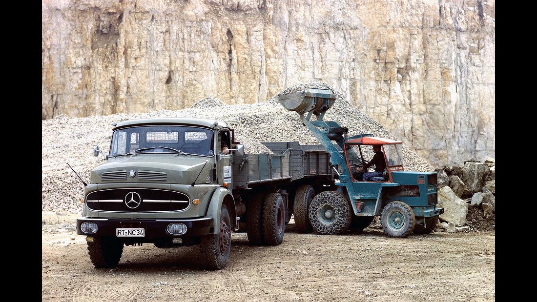 Mercedes-Benz LAK 1620 (1966) Kurzhauber Allrad-Kipper