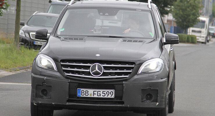 Mercedes Benz ML63 AMG Erlkönig