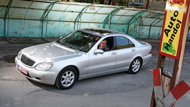 Mercedes-Benz S 320, Seitenansicht
