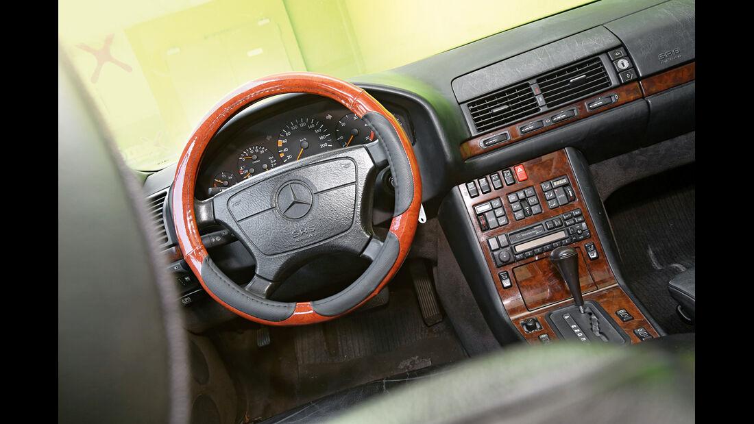 Mercedes-Benz S 350 Turbodiesel, Cockpit