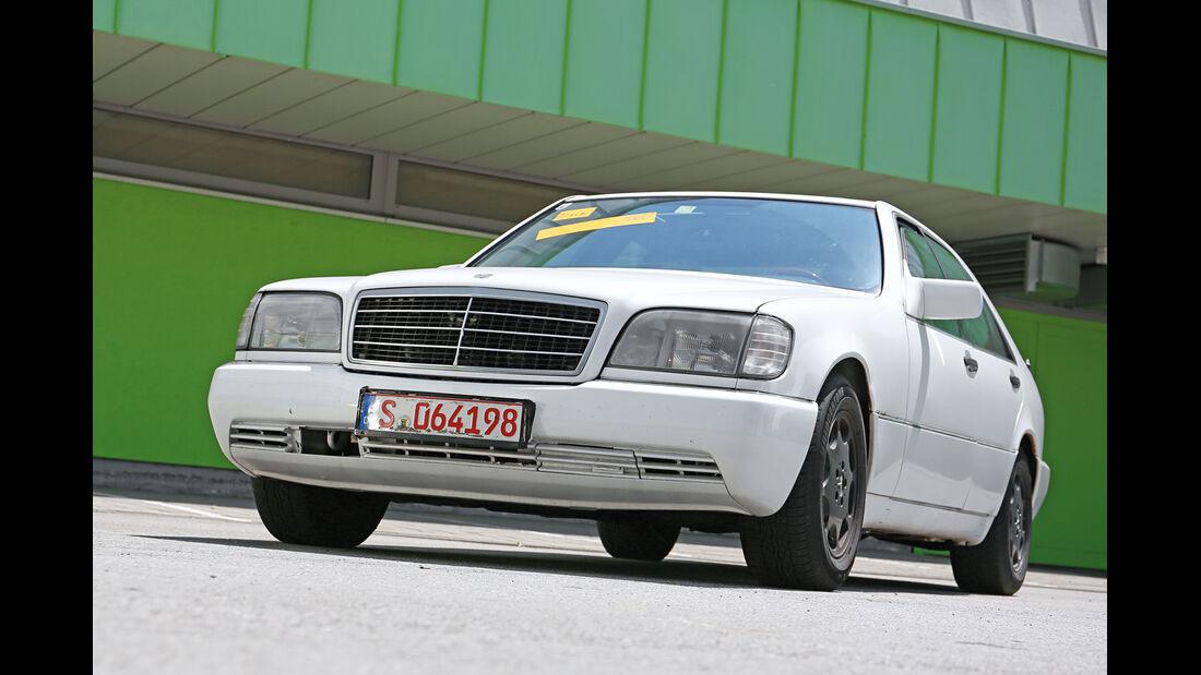 Mercedes-Benz S 350 Turbodiesel, Frontansicht