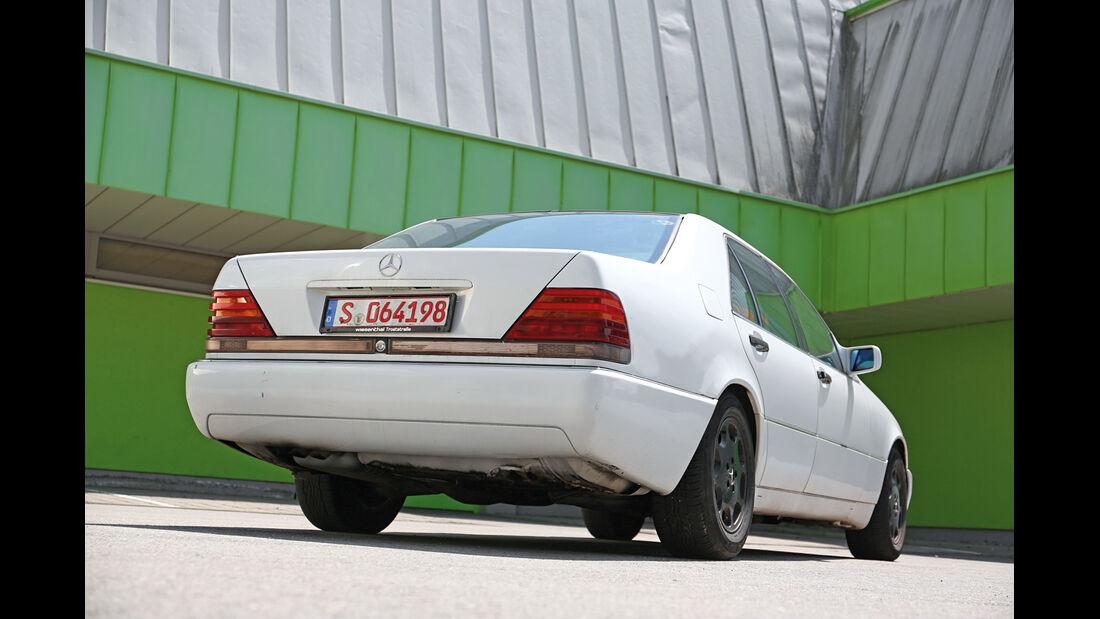 Mercedes-Benz S 350 Turbodiesel, Heckansicht