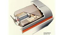 Mercedes-Benz S-Klasse-Limousine Beifahrer Airbag