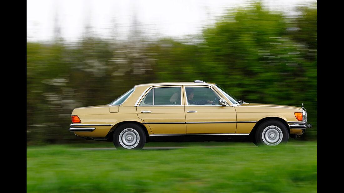 Mercedes-Benz S-Klasse (W 116), Seitenansicht