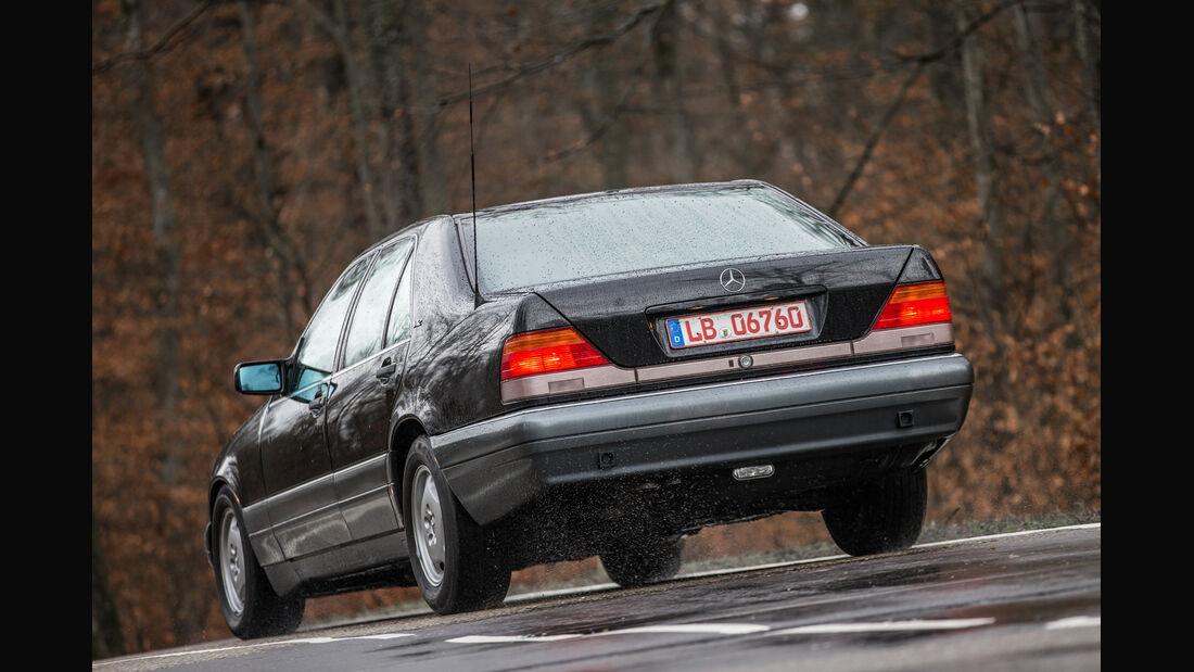 Mercedes-Benz S600, Heckansicht