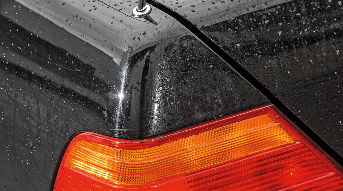 Mercedes-Benz S600, Heckleuchte