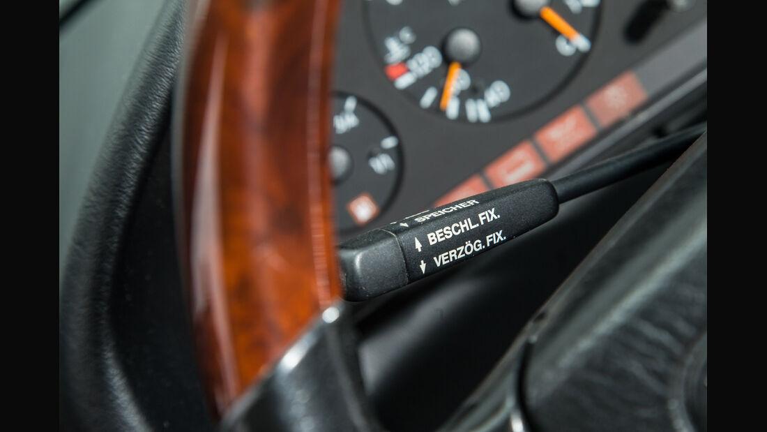 Mercedes-Benz S600, Lenkradschalter