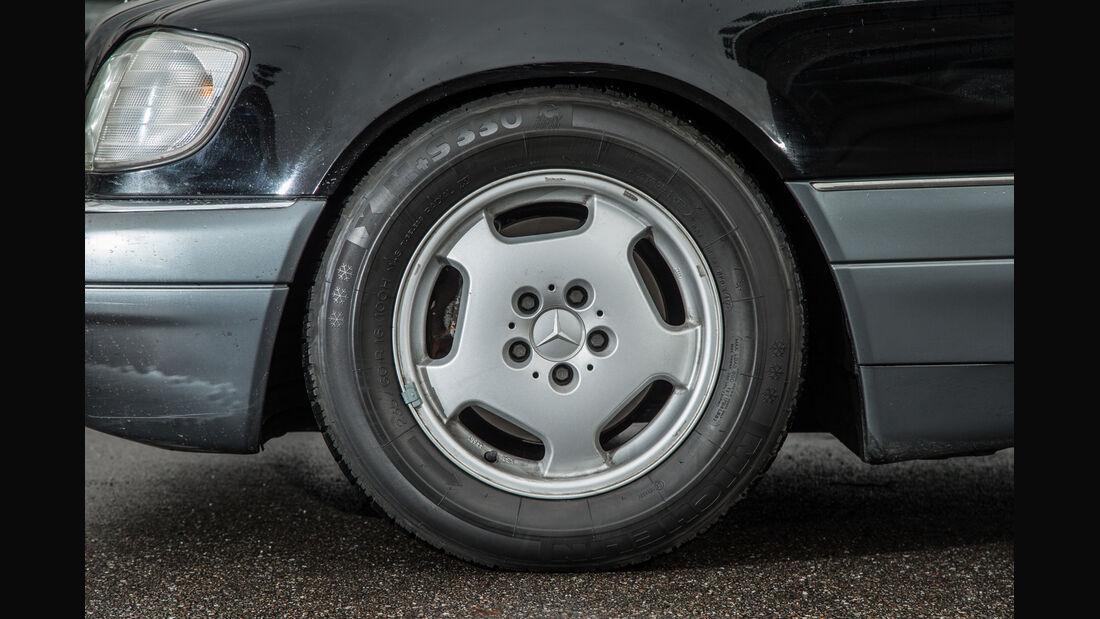 Mercedes-Benz S600, Rad, Felge