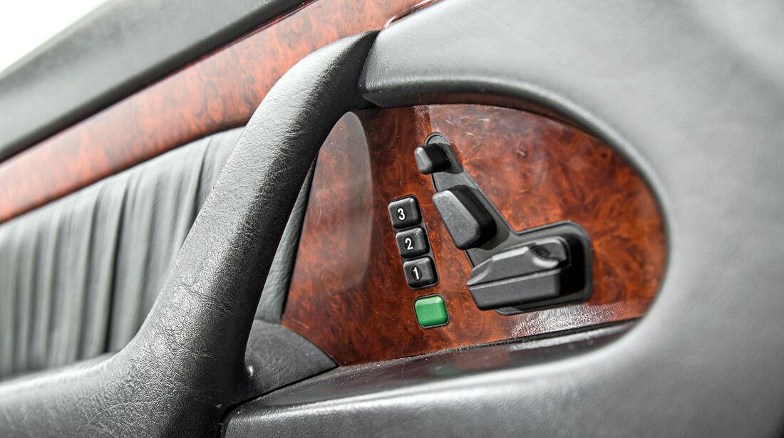 Mercedes-Benz S600, Sitzverstellung