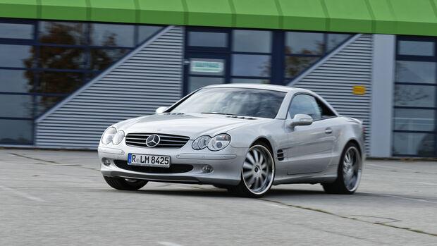 Mercedes-Benz SL 500, Exterieur