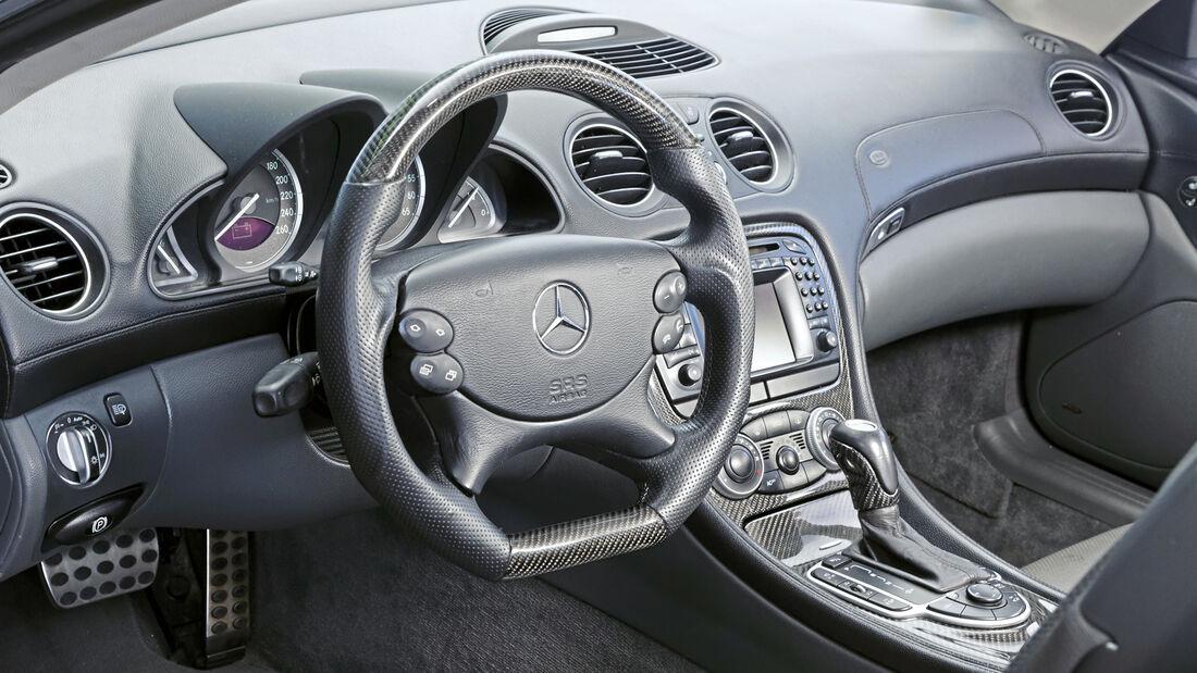 Mercedes-Benz SL 500, Interieur