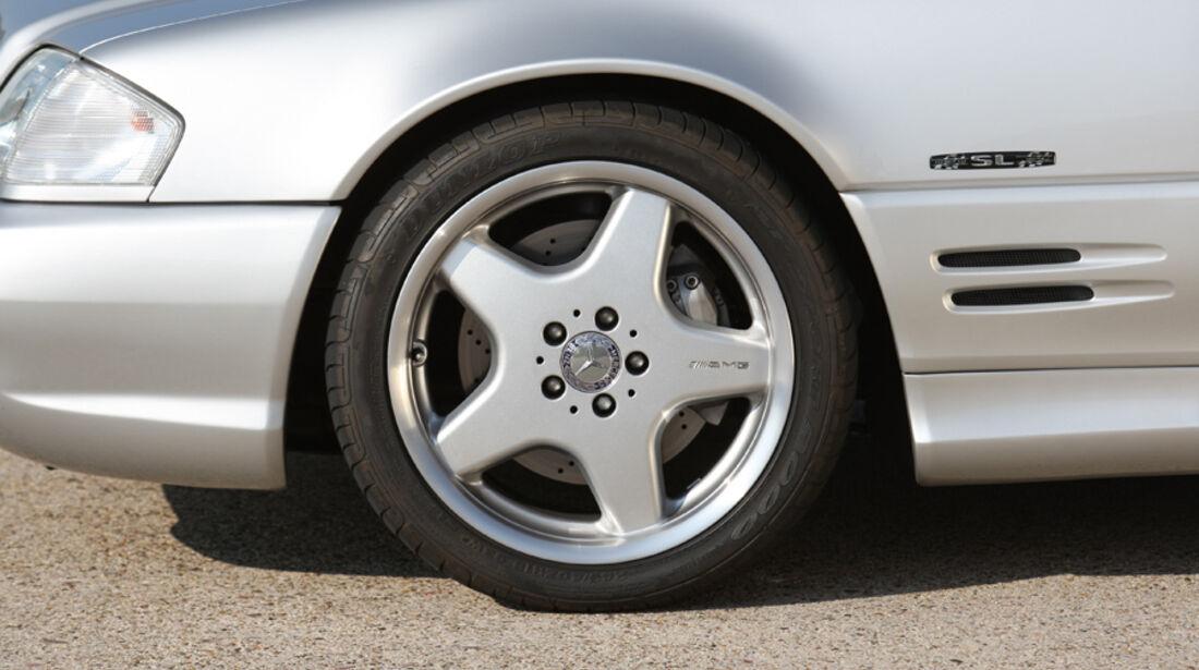 Mercedes-Benz SL 500  (R 129), Rad