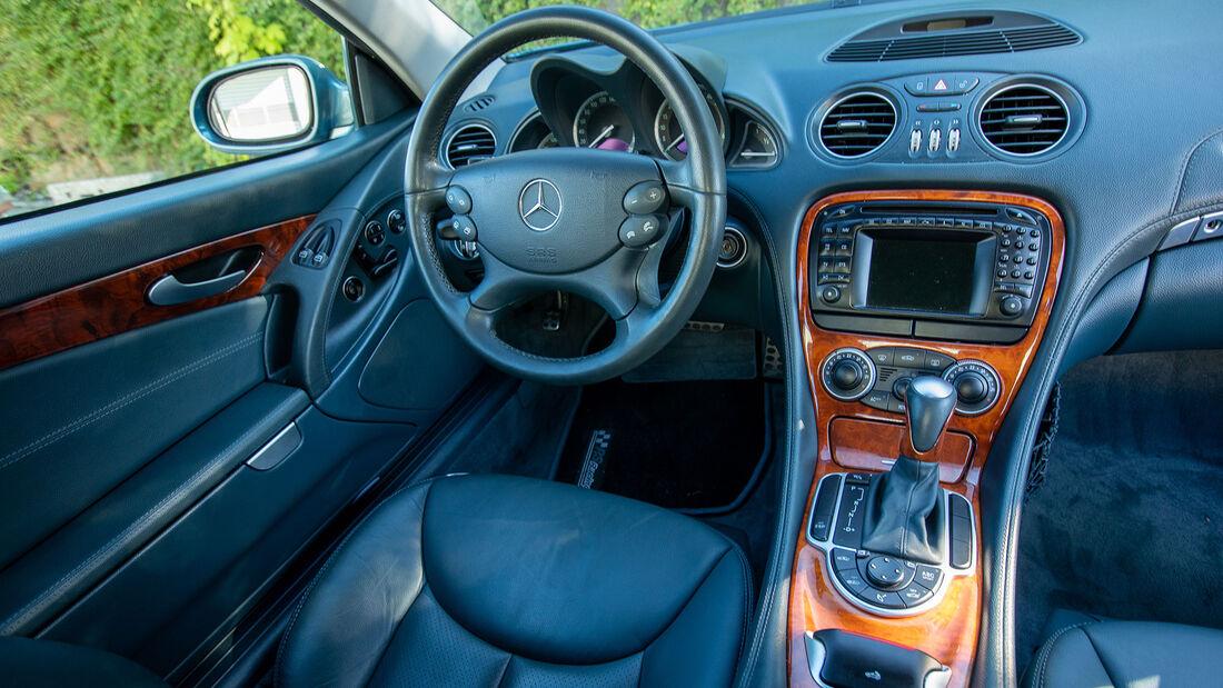 Mercedes-Benz SL, R 230, (2001-2011), Innenraum, Cockpit