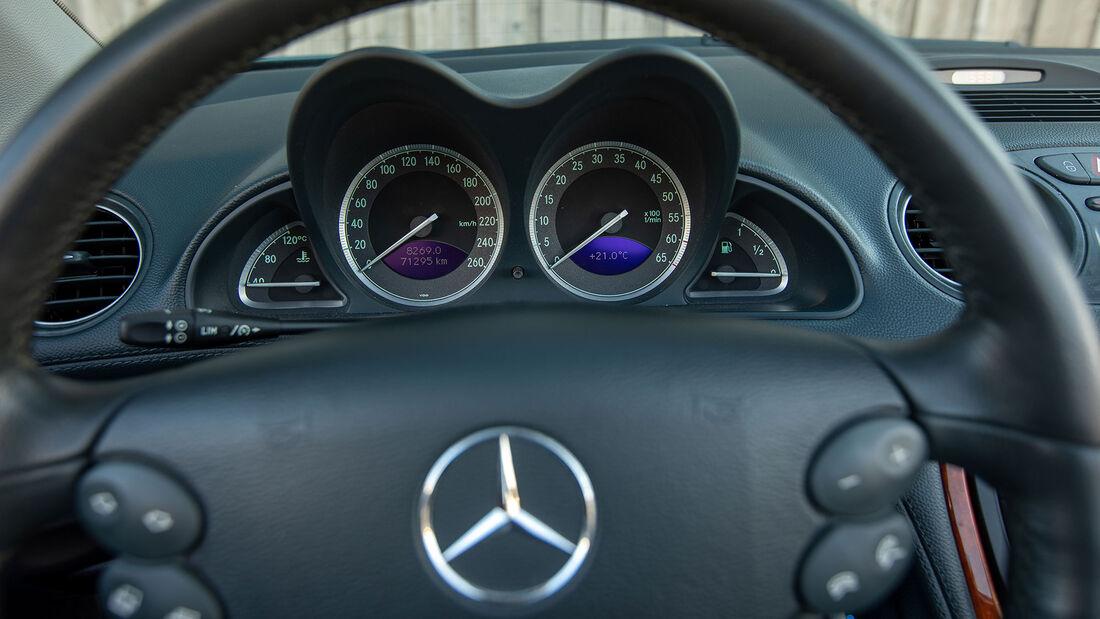 Mercedes-Benz SL, R 230, (2001-2011), Innenraum, Lenkrad