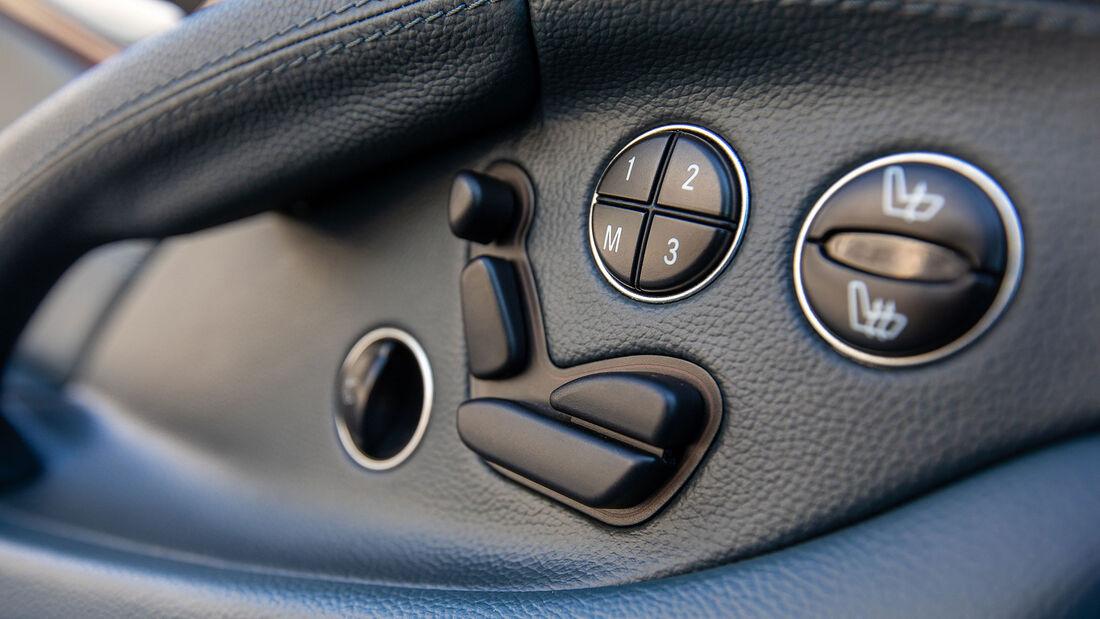 Mercedes-Benz SL, R 230, (2001-2011), Innenraum, Sitzverstellung, Knöpfe